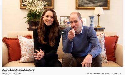 William ja Catherien julkaisivat Youtube-kanavan