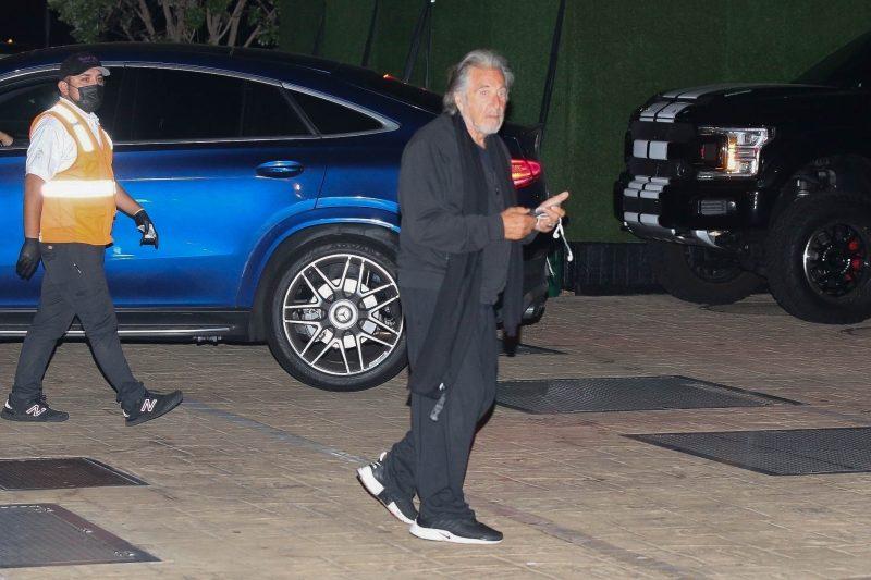 Al Pacino rennon ja homssuisen näköisenä tuoreissa kuvissa