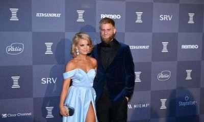 Janni Hussi ja Joel Harkimo menivät kihloihin