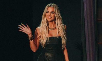 Khloé Kardashianin uskomaton bikinivartalo - poseeraa 187 miljoonan seuraajan rajapyykin kunniaksi