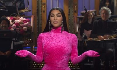Kim Kardashian laukoi vitsejä vitsien perään juontaessaan ohjelmaa - läppä lensi ja osui myös Kanye Westiin