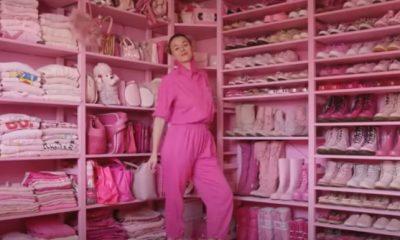 Nainen on hurahtanut pinkkiin: talossa kaikki on pinkkiä vaatteista huonekaluihin